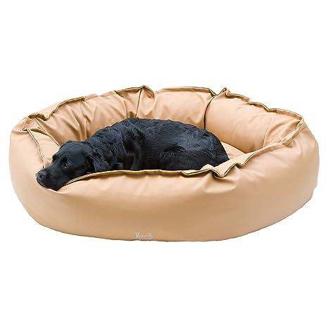 kensons for Dogs – Cama Melange 120 x 100 cm – Piel sintética – exklusive relleno