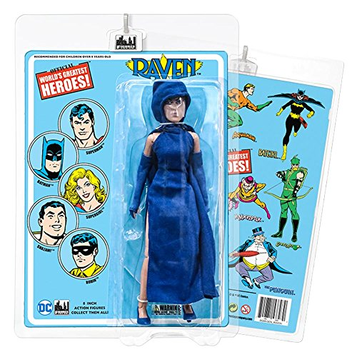 DC Comics 8 Inch Action Figures with Retro Cards: Raven ()