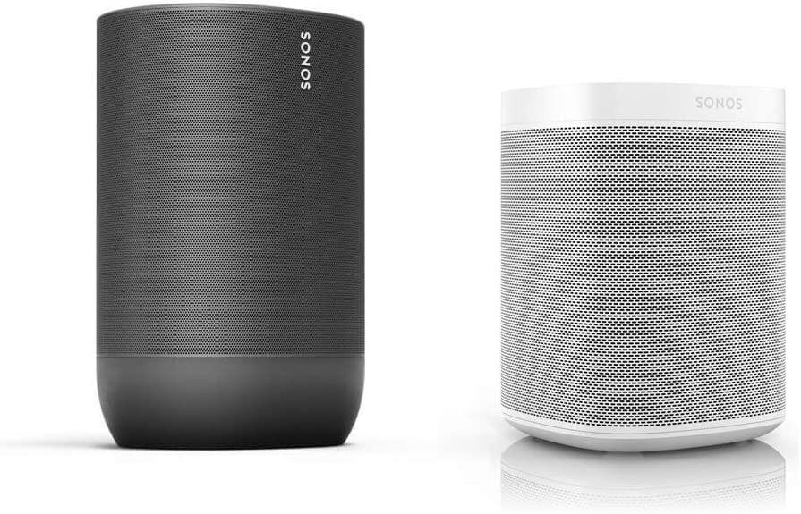 Sonos Move Smart Speaker - Juego de Altavoces para Interior y Exterior: Amazon.es: Electrónica