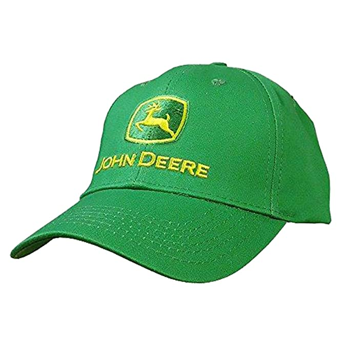 64aa3162f43ff Image Unavailable. Image not available for. Color  John Deere Men s Trademark  Logo Core Baseball Cap ...