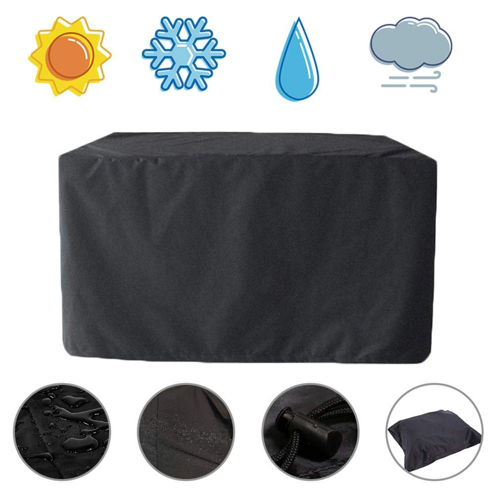 VERLOCO Stacking Garden Patio Chair Cover Oxford Fabric Waterproof Anti-UV Breathable Pation Chairs Furniture Protector Folding Cover Outdoor Storage
