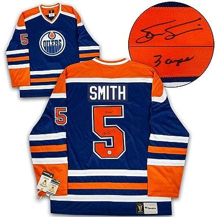 Image Unavailable. Image not available for. Color  Steve Smith Autographed  Jersey - Edmonton Oilers Fanatics Vintage ... 1d8c29e4c