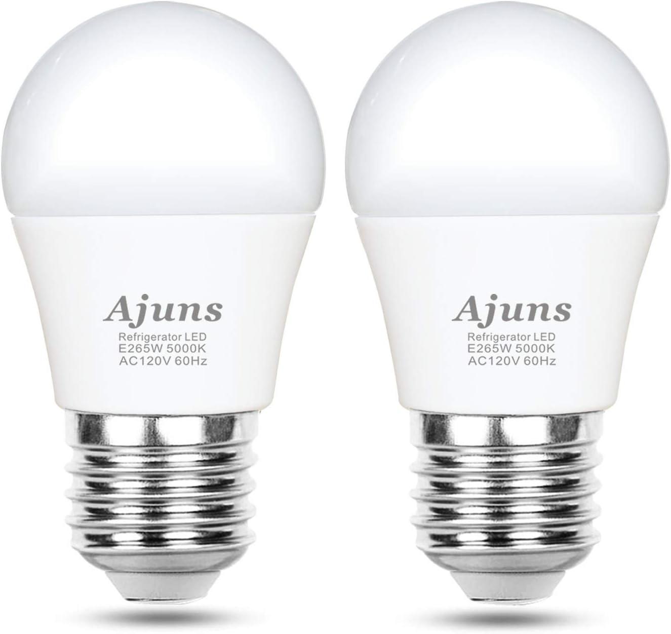 LED Refrigerator Light Bulb, 40W Equivalent 120V A15 Fridge Freezer  Waterproof Light Bulb, Used for Home Lighting Such as Freezer, Kitchen,  Bathroom, ...