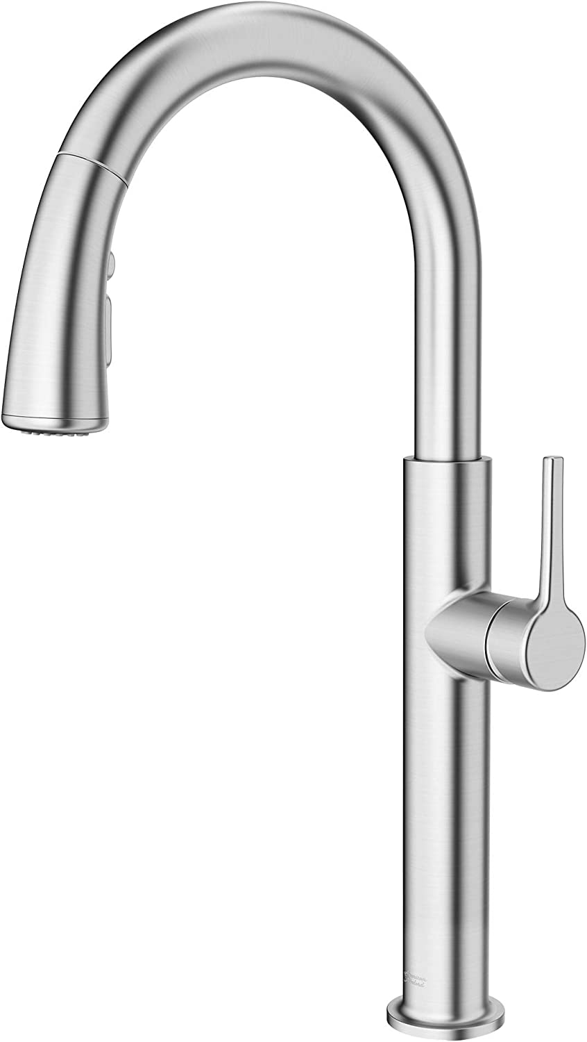 American Standard 4803300.075 Studio S Pull-Down Kitchen Faucet, Stainless Steel