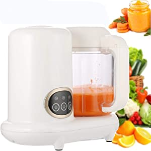 KGK Baby Food Maker Baby Food Processor 4 in 1 Steam Cooker & Blender for Organic Homemade Food Baby Food Mills Machine with Timer Control Baby Food Steamer and Blender