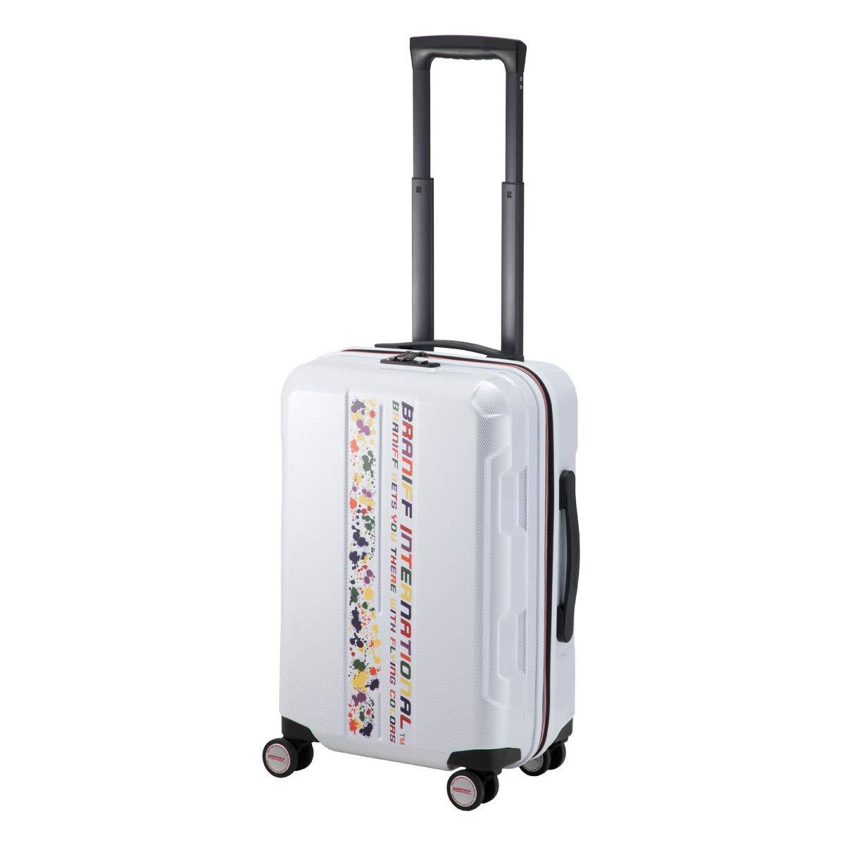 [ブラニフ] スーツケース 当社限定カラー 52L 56cm 3.4kg 787-56 B07NWCVLMV 【BI-08】ホワイト(当社限定)