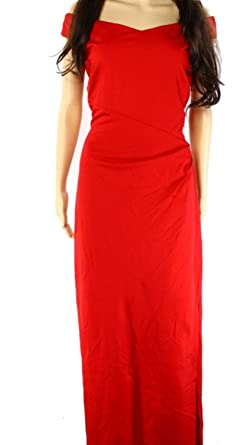 838c78bb607 Ralph Lauren Womens Jersey Gown Dress Red 8 at Amazon Women s Clothing store
