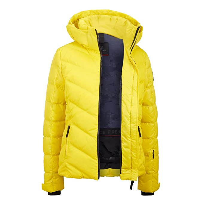 ed7378dab2 Bogner Fire + Ice Women s Ski Jacket with down Filling Sassy-D - Yellow  (510)