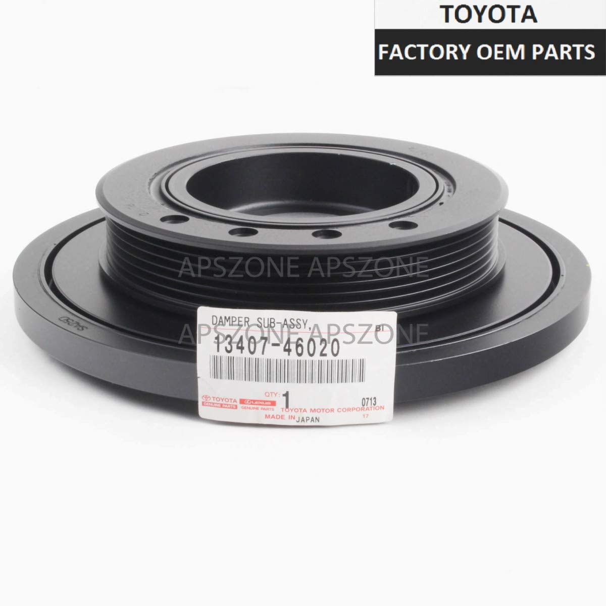 Lexus 13407-46020, Engine Crankshaft Pulley