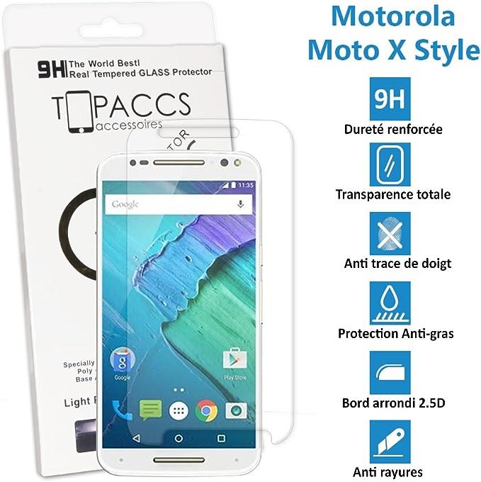Motorola Moto X Style – auténtico cristal de protección de ...