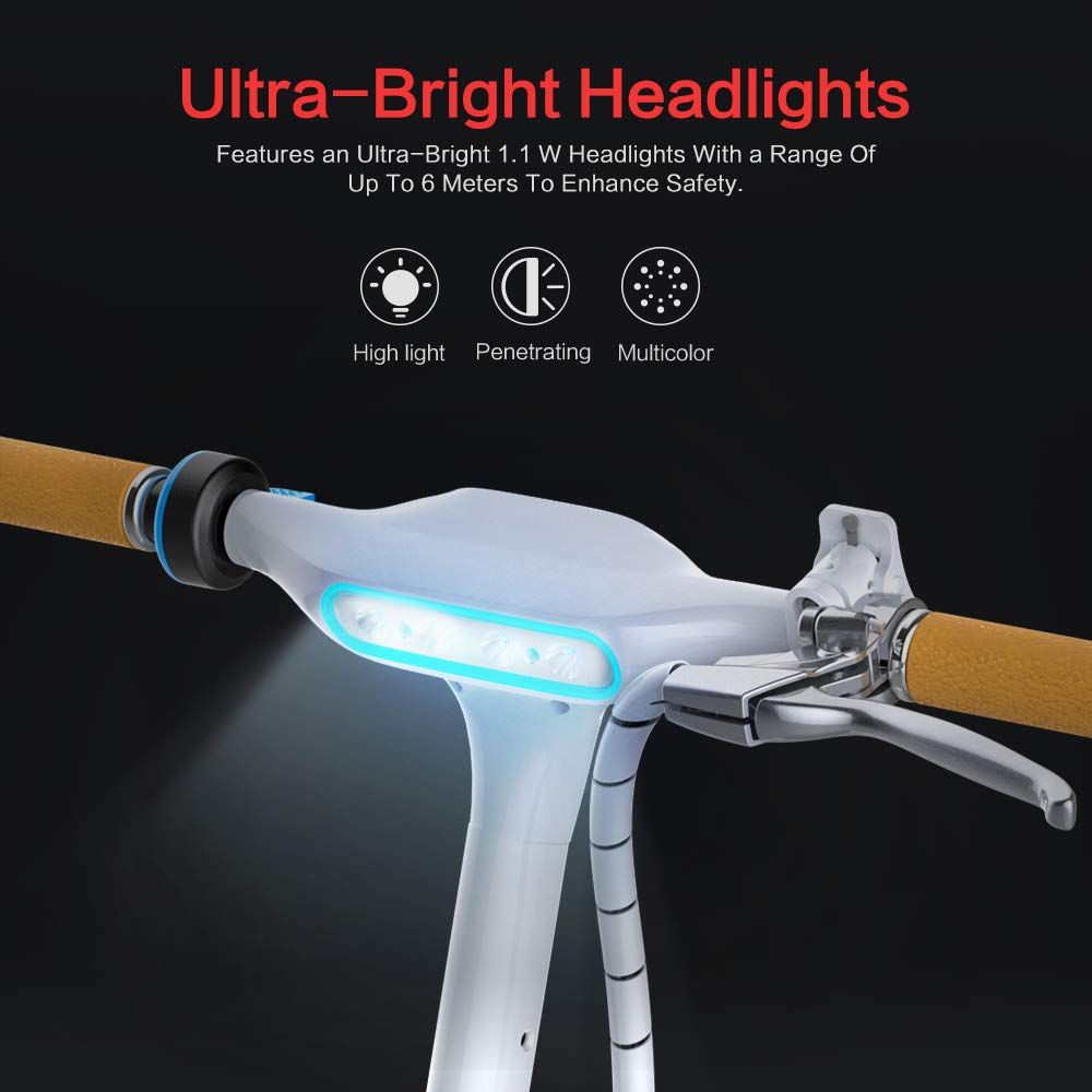 UL2272 Certificated with Music Speaker Colorful RGB LED Light 17.5 MPH Top Speed 12 Miles Max Range TOMOLOO Music-Rhythmed Hover Board for Kids and Adult Two-Wheel Self-Balancing Scooter