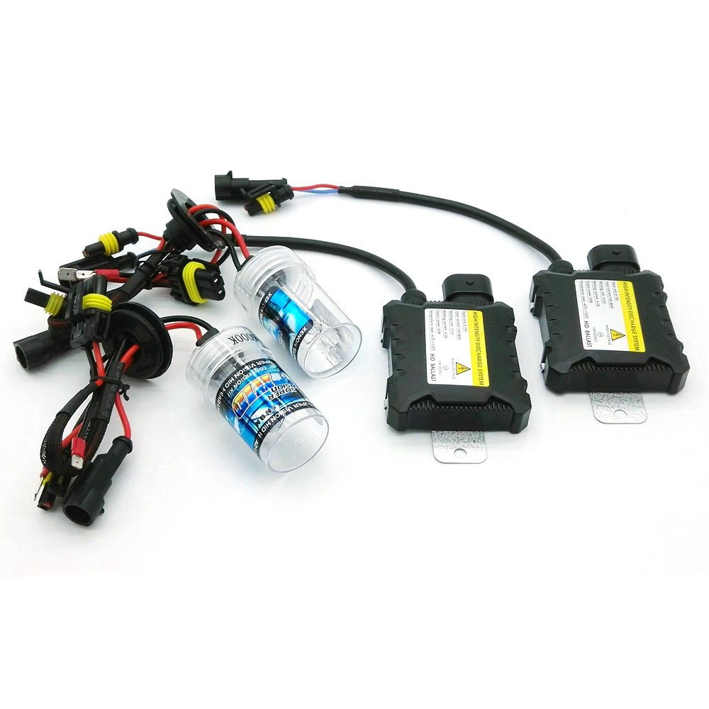 1 paire de phares HID de 55/W Kit de remplacement HID Xenon Light par Heinmo Xenon H3 H7 H9 H11 H8 H1 9005 9006 880 881 HB3 HB4