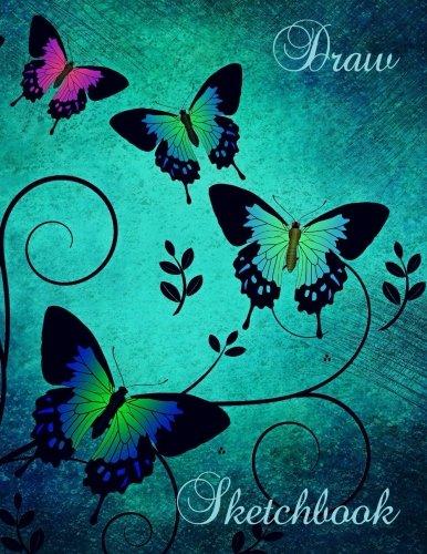 Draw Sketchbook: Butterfly (8.5