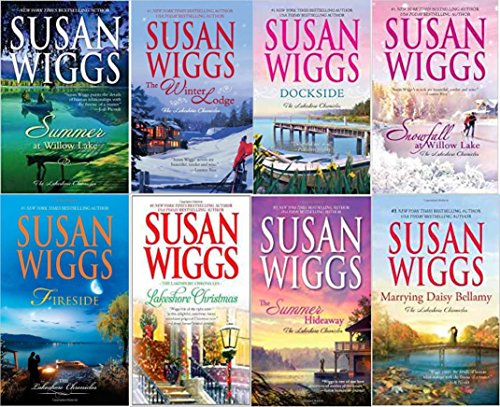 Susan Wigg's Lakeshore Chronicles 8 book set: The Summer Hideaway/Lakeshore Christmas/Fireside/Summer at Willow Lake/Dockside/The Winter Lodge/Snowfall at Willow Lake/Marrying Daisy Bellamy (1-8) (At The Christmas Willows)