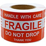 Image is loading 1x3-Fragile-Stickers-Self-Adhesive-Fragile-Labels-Handle-
