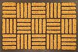 Envelor Home and Garden EN-RMC-11501 Doormat, Black