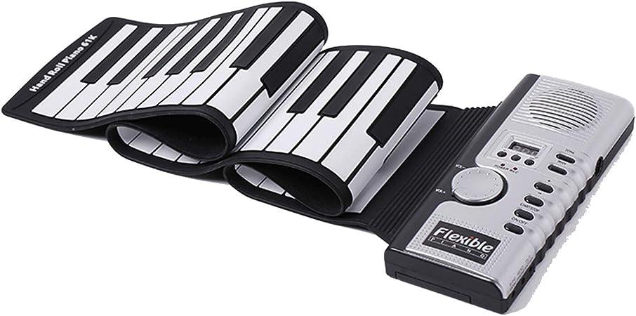 ZHX 61 Teclas del Teclado de Piano eléctrico, Suave Rueda ...
