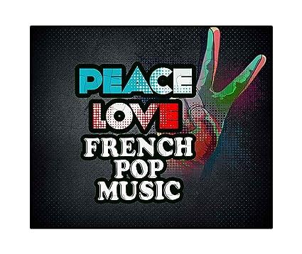 Amazon com: Makoroni - Peace Love French POP Music Music