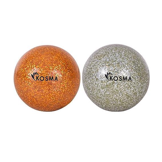 Kosma Glitter Set de 2 pelotas de Hockey Pelota de Hockey ...