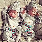 Gallity Newborn Baby Girls Jumpsuit Romper