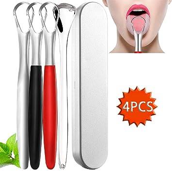 Amazon.com: Rascador de lengua de acero inoxidable ...