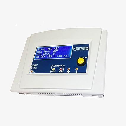 Amazon com: R1 Simplex Air Compressor Digital Manager: Home Improvement