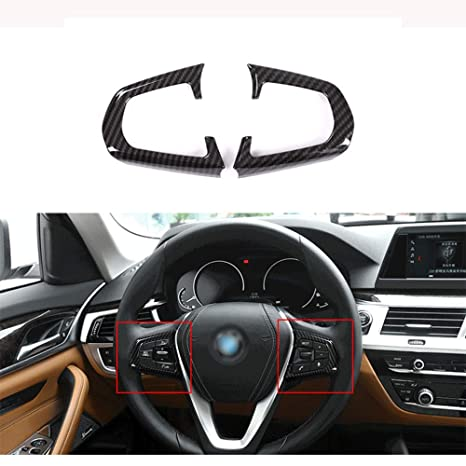 Amazon Com Steering Wheel Button Trim Cover Accessories For Bmw 5