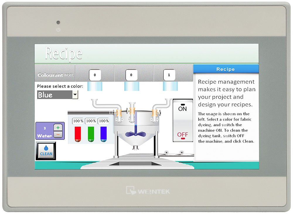 MT8070iE - Class 1 Div 2 Operator Interface with 7'' Touchscreen Display