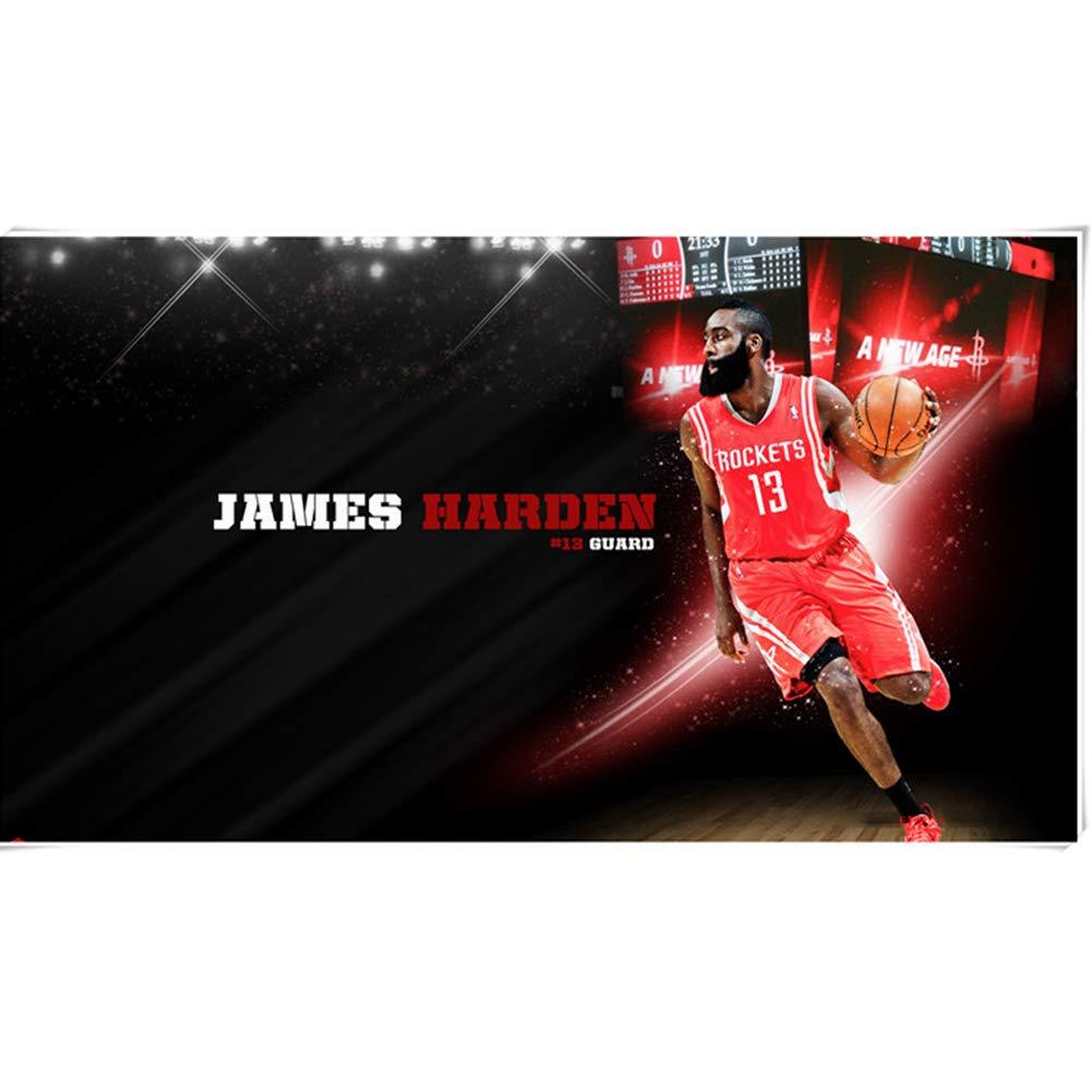 N 1000PIECES LINGNA Holzpuzzle, Erwachsene Kinder Intellektuelle Entwicklung Individuelle NBA-Raketen James Harden Basketball Star Assembled Game Personalisierte Geschenke,N,1000PIECES