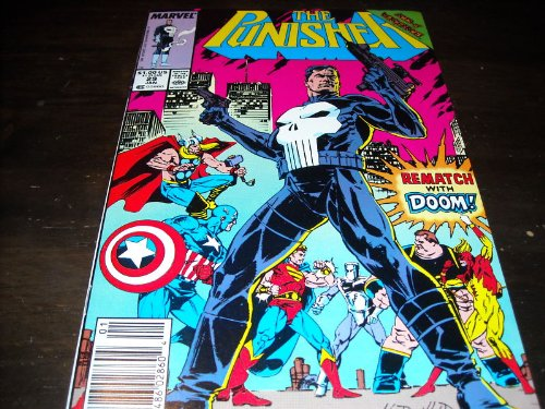 """Price comparison product image The Punisher #29 """"Doctor Doom Appearance"""""""