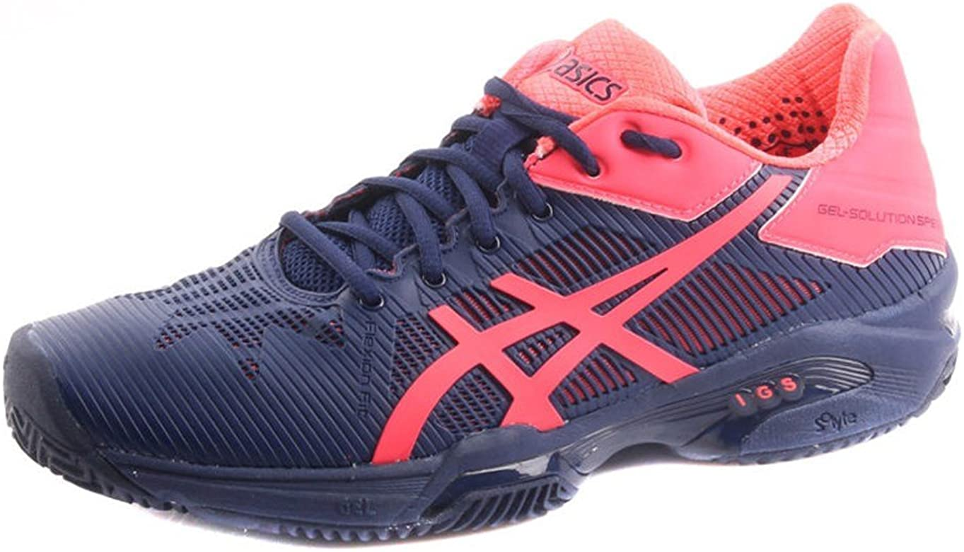Zapatilla De Padel Asics Gel Solution Speed 3 Clay-40: Amazon.es ...