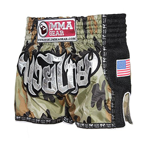 World MMA Gear Muay Thai Shorts by Army Camouflage – Kickboxing, Thai Boxing