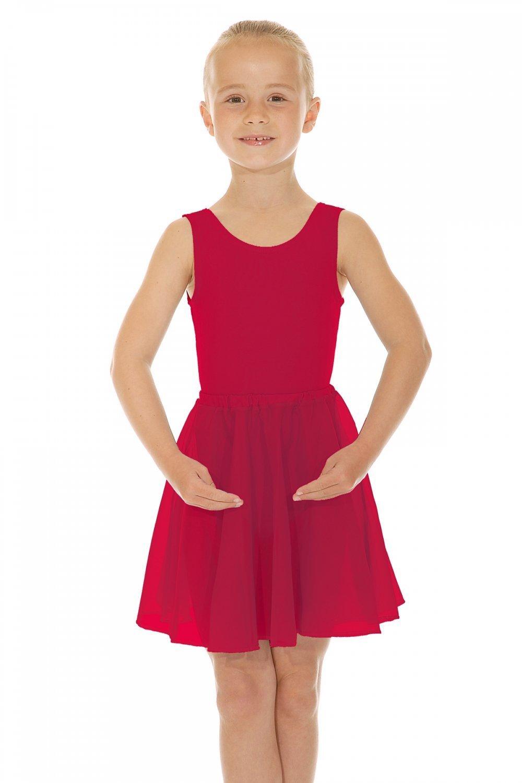 DANCE & LEISUREWEAR Childrens Reglamento ISTD Gasa Falda Circular ...