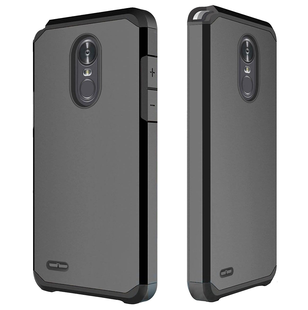 Lg Stylo 3 Case Plus Oeago Hybrid Hardcase Anti Shock Caseology Vanvo Iphone 6 Black Shockproof Drop Protection Impact Rugged Armor Cover For