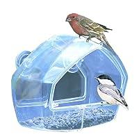 Birdscapes Clear Window Feeder