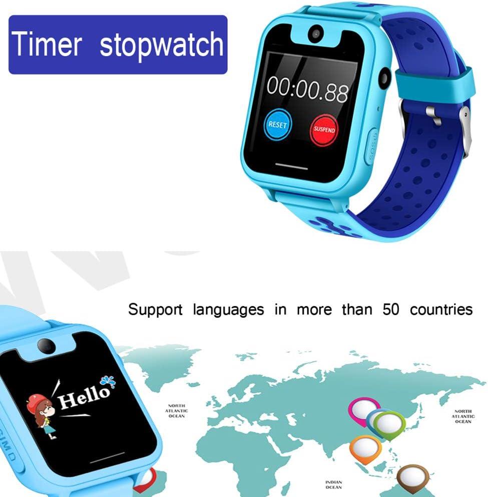 Smartwatch para niños Resistente al Agua, teléfono Inteligente con ...