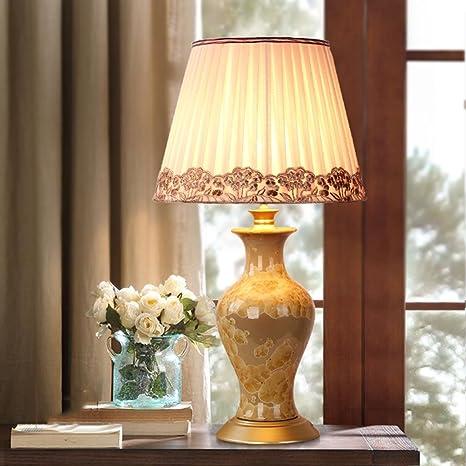 lámpara de escritorio Lámpara de mesa de cerámica - La mejor serie ...