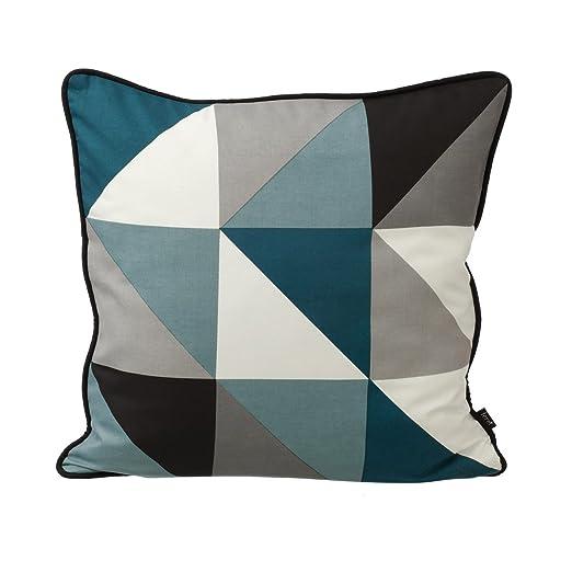 Funda de cojín de Ferm Living remix, azul, L 50cm, H 50cm ...