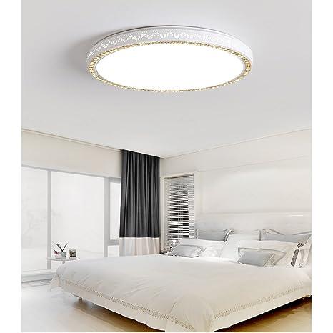 Illuminazione moderna Nordic rotonda camera da letto doppia ...