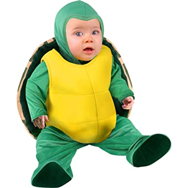 Amazon.com: Child\'s Infant Baby Turtle Halloween Costume (12 ...