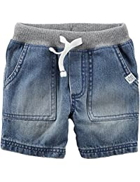 Carters Toddler Boys Pull-On Denim Shorts