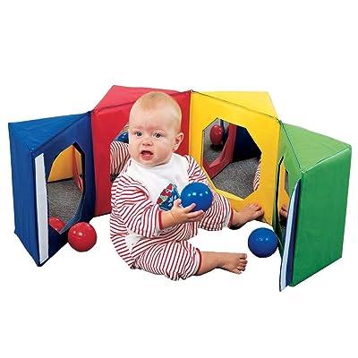 Magic Mirror Cube : Baby Mirror Toys : Baby