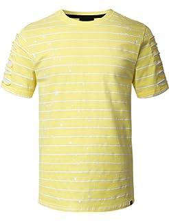 5f72440d8c7144 Amazon.com  Luobote Graphic Men Tank Tops Fashion Longline Print Hip ...
