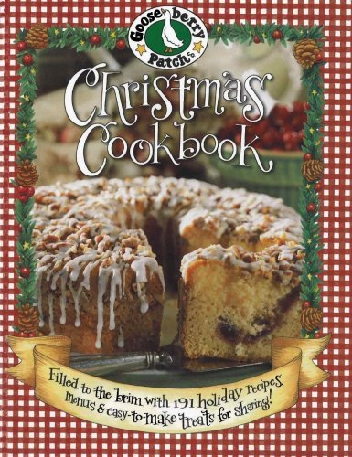 Read Online Christmas Cookbook (Gooseberry Patch) (Second printing) [Hardcover] pdf