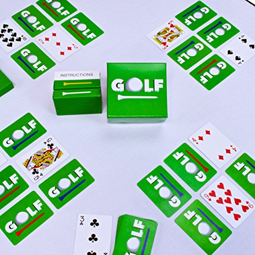 Cards Stocking (Legacy Toys Family Games - GOLF - includes 4 Decks of Cards. Playing Cards for Kids and Adults - Dad Golf Gifts & Stocking Stuffers (2 - 25)