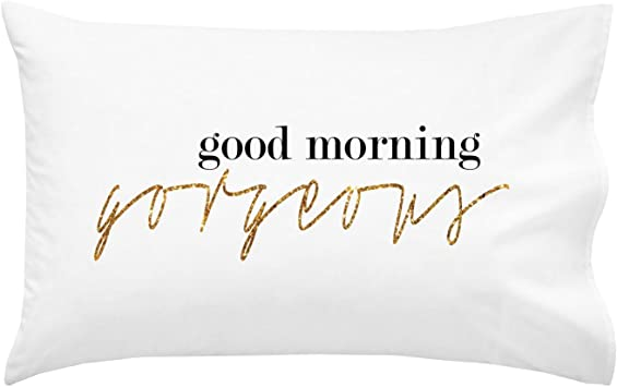 Amazon.com: Oh, Susannah Good Morning Gorgeous Parejas Funda ...