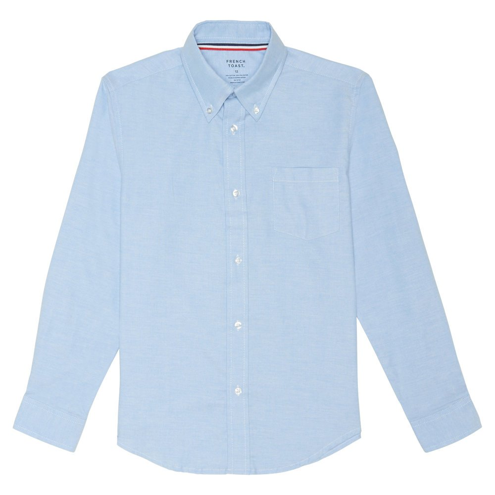 French Toast boys Long Sleeve Oxford Shirt SE9002