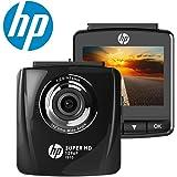 """HP Dash Cam Telecamera per Auto Full HD 1296P Car Dvr Camera G-Sensor Registrazione in Loop Visione Notturna e 2,4"""" Schermo LCD"""