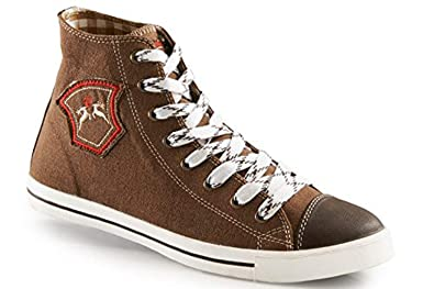first rate 31041 81c41 Trendige Damen Sneaker Fanny in Hellbraun aus Leinen Maddox ...
