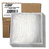 Wal-Board 6'' x 6'' Drywall Repair Patch - Aluminum and Self-Stick Mesh (6-Pack)